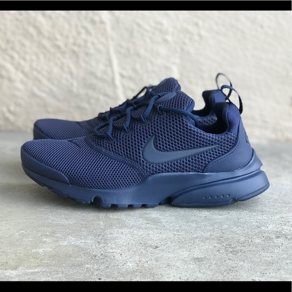 28409afe0dc35 Nike Shoes | Presto Fly Triple Navy Blue Sz 5y 65 Wmns | Poshmark